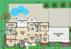 Plan W36402TX: European, Hill Country House Plans & Home Designs