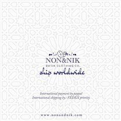 Shop anywhere , anytime  .  .    www.nonandnik.com    #shopping #online #shipworldwide #onlineshop #olshop #visa #mastercard #paypal #fedex