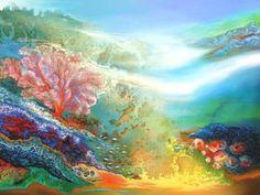 Astrid Dahl   Neptunes Paradise Fine Art