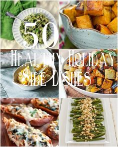 50 Healthy Holiday Side Dishes - - - > www.theroastedroot.net