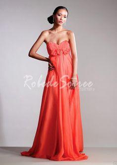 Robe-de-Soirée-2013-Satin-à-volants-en-mousseline-de-soie-robe-de ... http://yesidomariage.com - Conseils sur le blog de mariage