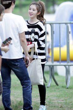 Red Velvet's Irene is always seen wearing this same shirt — Koreaboo