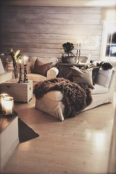 Cozy living room inspo