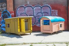 Why pay rent?kloehn-dumpster-homes/ that makes homes for homeless people out of old dumpsters.