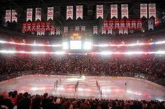 The Bell Centre is an undisputed hockey mecca, and home to the oldest and most respected team in the NHL -- the Montréal Canadiens. With a 23 000 seats capacity, the venue also hosts boxing, curling and massive rockstars, such as Beyoncé and U2.