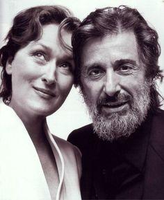 Meryl Streep and Al Pacino... or meryl streep with my dad?