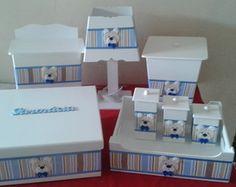 Kit Higiene Para Bebê 5 peças