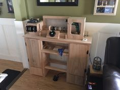 hand made, coil building workstation