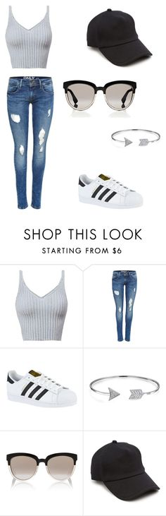 """""""Sans titre #2"""" by catia1803 ❤ liked on Polyvore featuring adidas, Bling Jewelry, Christian Dior and rag & bone"""