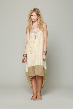 Maheya--SS 14 collection by Free People, dyed, textured and tailored by Adiv