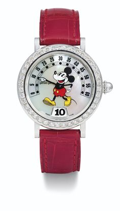 a lady's stainless steel Gerald Genta, Cool Watches, Auction, Stainless Steel, Running, Pearls, Luxury, Diamond, Prints