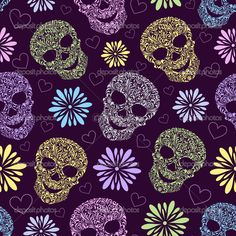 pattern day of the dead - Google Search