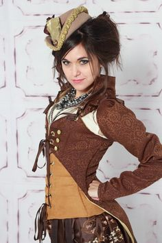 Steampunk Jacket (Top Only) | Store | Damsel in this Dress (good for maternity)