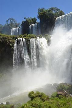 Argentina - Iguazu - Waterfalls of Iguazu - Argentina side