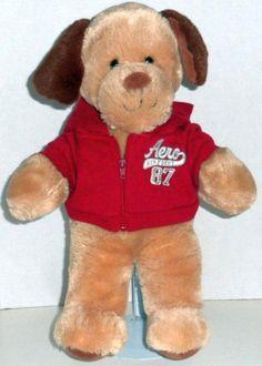7fdcfbdbd0c Build A Bear Bull Dog Puppy Boxer Brown White Plush Stuffed Animal Toy