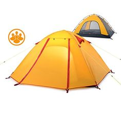Tsptool Portable Folding Waterproof Tent 4 Seasons Tent for Outdoor Camping Hiking and Travelling * You can find out more details at the link of the image. (This is an affiliate link) #CampingTents