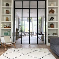 Interior french doors add a beautiful style and elegance to any room in your home. Sliding Door Room Dividers, Partition Door, Room Divider Doors, Room Doors, Living Room Sliding Doors, Internal Bifold Doors White, Internal Doors With Glass, Internal French Doors, Glass Room Divider
