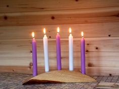 Wooden Candlestick Holder  Candle Holder by TheWoodGrainGallery