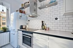 Compact Cooking: A Kitchen in a Closet | Apartment Therapy
