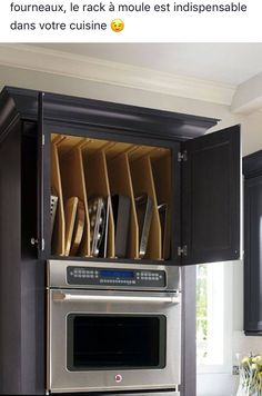 Cabinet layout near oven for baking above or below oven