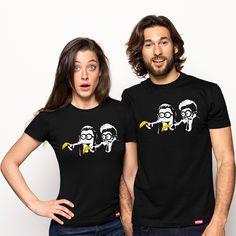 Banana Fiction de AlbertoArni a la venta en Pampling.com, con una tirada limitada y exclusiva. En Pampling  encontrarás las camisetas mas divertidas y originales de la red!  siguenos en facebook.com/pampling