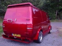 Custom Van Customised Vans, Custom Vans, Hot Rod Trucks, Gmc Trucks, Station Wagon, Bedford Van, Old School Vans, Camper, Dodge Van