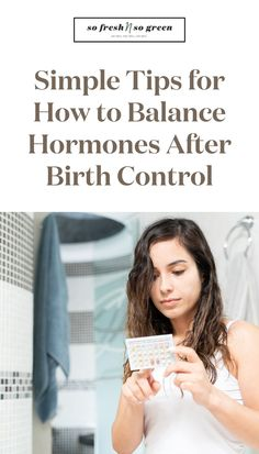 Simple tips for how to balance hormones after transitioning off birth control. This guide is willed with hormone balancing recipes, grocery lists, and steps to help you optimize your health, happiness, energy and so much more. #fertility #hormones Fertility Food For Women, Fertility Foods, Seed Cycling, Doctor Reviews, Best Green Smoothie, Clean Diet, Night Sweats, Hormone Imbalance, Hormone Balancing