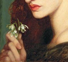 Dante Gabriel Rossetti Blanzifiore, 1873