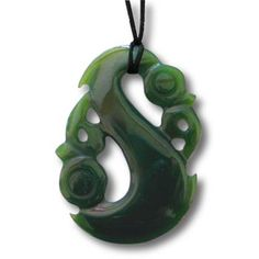 New Zealand Manaia Jade Greenstone Pendant