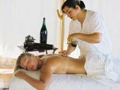 Uso de aceite de oliva en masajes musculares
