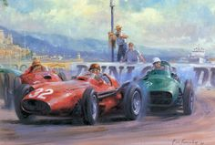 Photo by Maria Cristina F1 Mexico, Classic Race Cars, Car Drawings, Automotive Art, Car Painting, Sports Art, Courses, Concept Cars, Illustrators