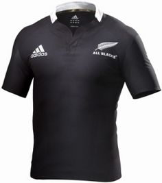All Blacks home jersey - ADIDAS - Rugby - New Zealand