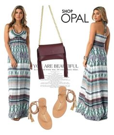 """SHOP - OPAL"" by ladymargaret ❤ liked on Polyvore featuring J.J. Winters and Cocobelle"