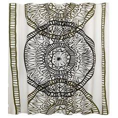 Large Medallion Shower Curtain - Room Essentials™ : Target