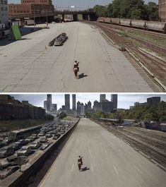 18 Revealing Before-And-After VFX Shots From Your Favorite Movies And TV Series - Bored Panda
