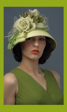 trendy hats - http://www.boomerinas.com/2013/05/07/best-hat-styles-for-women-with-short-hair/