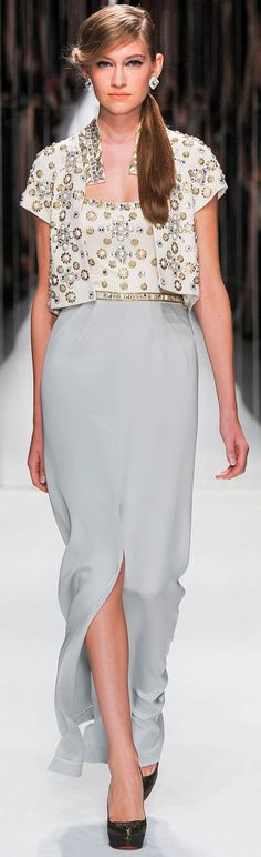 Jenny Packham Spring Summer 2013 Ready To Wear Collection – Haute Couture Evening Gowns