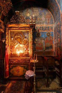 Paramythia – A miracle-working icon of Mother of God and its feast Holy Mount Athos ✨ Byzantine Icons, Byzantine Art, Religious Icons, Religious Art, Madonna, Religion, Orthodox Christianity, Holy Mary, Orthodox Icons