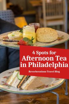 Enjoy a good cup of tea and some delicious food at any of these great spots for afternoon tea in Philadelphia and across the nearby region. #afternoontea #philadelphia #philly #pennsylvania #visitpa #visitphilly Travel Inspiration, Travel Ideas, Travel Tips, Best Street Food, United States Travel, Foodie Travel, Places To Eat, Afternoon Tea, Travel Usa