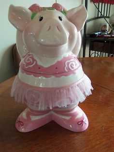 ~Ballerina Pig Cookie
