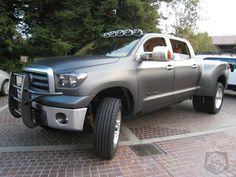 toyota tundra diesel | Toyota Tundra Diesel Dually Project Truck back again at SEMA ...