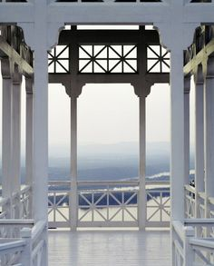 open transoms, railings