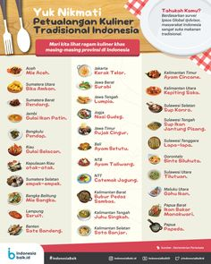 Food N, Food And Drink, Colon Cleanse Diet, Indonesian Cuisine, Tasty, Yummy Food, Menu Design, Health Education, Food Hacks