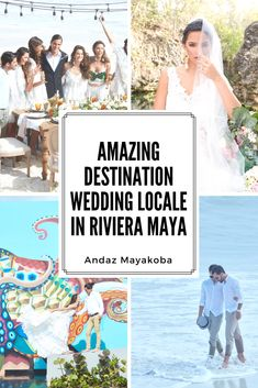 """Say """"I do"""" to the soft white sands of Mayakoba Beach and the vibrant Mayan-inspired artwork at the luxe, secluded Andaz Mayakoba Resort Riviera Maya. Destination Wedding, Wedding Venues, Wedding Destinations, Wedding Ideas, Riviera Maya, Romantic Beach, Amazing Destinations, Sands, Beach Resorts"""