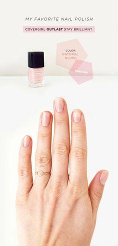 Blush nail polish   color design trend