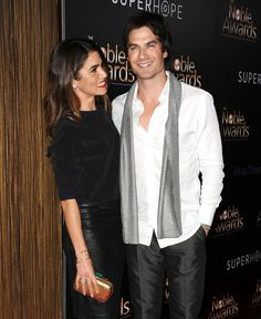 Nikki Reed can't keep her eyes off husband Ian Somerhalder. Click to see more photos of the cute couple.