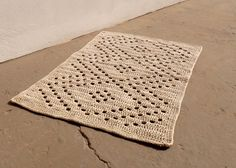 Crochet Rug, via Etsy. No pattern