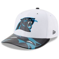 Carolina Panthers New Era 2017 NFL Draft On Stage Low Profile 59FIFTY Fitted Hat - White
