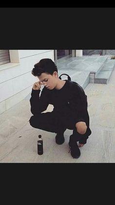 ■All Black■