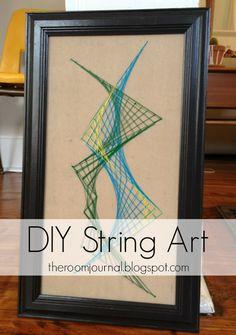 The Room Journal: DIY String Art